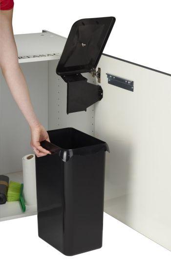 poubelle de porte détachable